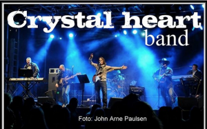 chrystal heart band