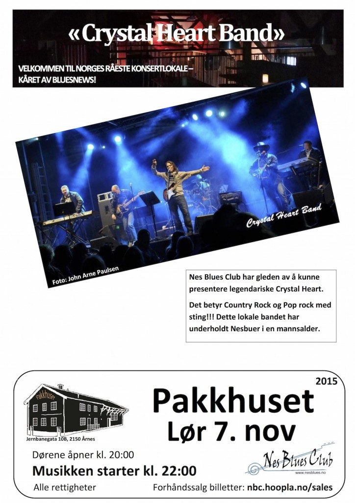 plakat-Crystal Heart Band - 071115